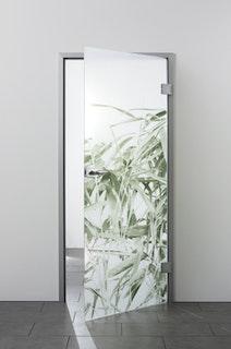 SPRINZ Digitaldruck- Ganzglasdrehtürer Motiv OSAKA