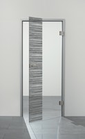 SPRINZ Digitaldruck- Ganzglasdrehtürer Motiv GIRONA