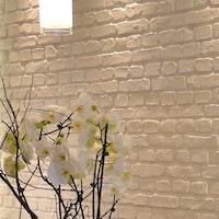 STONESlikeSTONES Steinpaneel LADRILLO Vertikale Loft Blanco 274