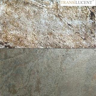 STONESlikeSTONES Glimmerschiefer SLATE LITE Transluzent Verde Gris