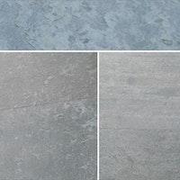 STONESlikeSTONES Glimmerschiefer SLATE LITE Classic Ice Pearl 122 x 61 cm