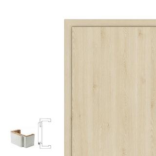 Holzzarge CPL TOUCH Oak Nature mit Rundkante RF und 60 mm Bekleidungsbreite