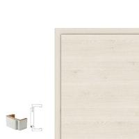 Holzzarge CPL TOUCH Oak White mit Rundkante RF und 60 mm Bekleidungsbreite
