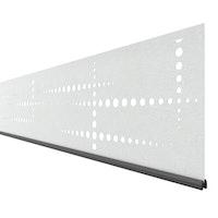 Traumgarten System Dekorprofil PULS Silber