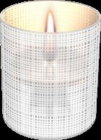 TenderFlame Tischfeuer LILLY Sandstrahloptik weiß