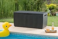 Tepro Gartenbox Rattan Style Box Capri 305 Liter