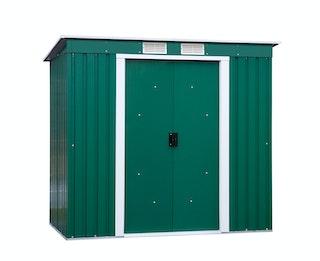 Tepro Pent Roof Metallgerätehaus-Set