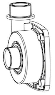 Pumpengehäuse G 2? - Ø 45 (104/003508)