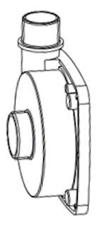 Pumpengehäuse G 2˝ (104/003409)