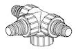 Dreifach-Verteiler (164/004485)