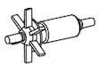 Messner Ersatz-Rotor für system-X & system-Tec 1000 (168/009092)