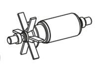 Messner Ersatz-Rotor für system-X 1501 (168/009152)