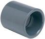 PVC-Doppelmuffe Ø 50 mm K - K