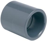 PVC-Doppelmuffe Ø 75 mm K - K