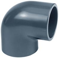 PVC-Winkel 90° Ø 40 mm K - K