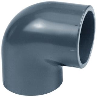 PVC-Winkel 90° Ø 50 mm K - K
