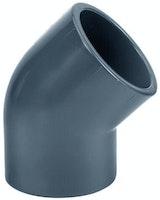 PVC-Winkel 45° Ø 40 mm  K - K
