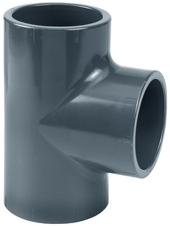 PVC-T-Stück 90° Ø 63 mm K - K