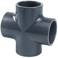 PVC-Kreuzstück 90° Ø 40 mm K - K