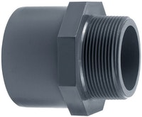 "PVC-Gewindestück Ø 63 x 75 mm K – 2"" AG"