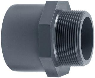 "PVC-Gewindestück Ø 50 x 40 mm K - 1 ½"" AG"