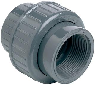 "PVC-Verschraubung/Kupplung Klebeverbindung Gewinde Ø 50 mm K - 11/2"" IG"
