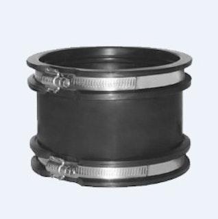 EPDM Muffe Ø 110 mm inkl. V2A Schlauchschelle