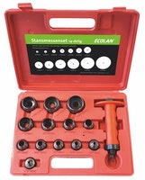 ECOLAN® Stanzmesser-Set Ø 15 - 95 mm, 13- teilig