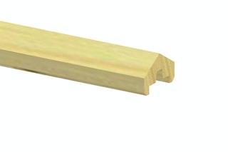 TraumGarten Aufsatzleiste Holz