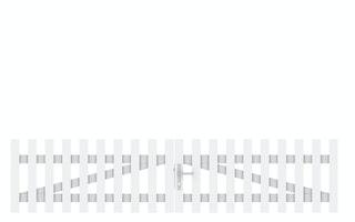 TraumGarten LONGLIFE CARA Doppeltor gerade