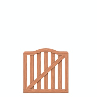 TraumGarten Raja Einzeltor 98x90 (97) cm