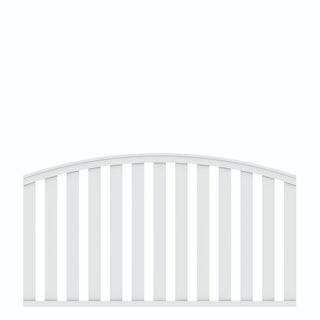 TraumGarten LONGLIFE CLEO 180x85 (102) cm Weiß