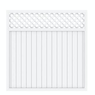 TraumGarten Longlife Riva 180x180 cm mit Gitter