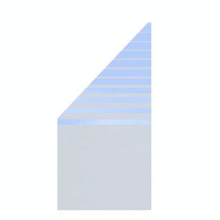 TraumGarten System Glas BETA 90x180/90 cm Anschluss links