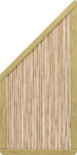 TraumGarten Bambu 89x179/89 cm