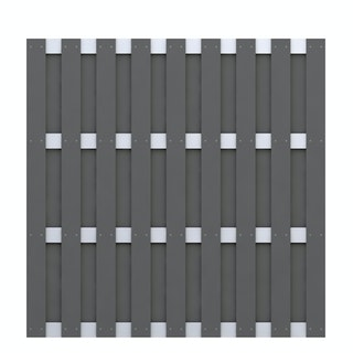 TraumGarten Jumbo WPC Alu-Design 179x179 cm