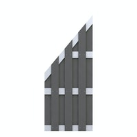 TraumGarten Jumbo WPC Alu-Design 74x179/90 cm
