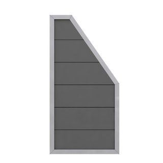 TraumGarten Design WPC Alu 90x180/90 cm