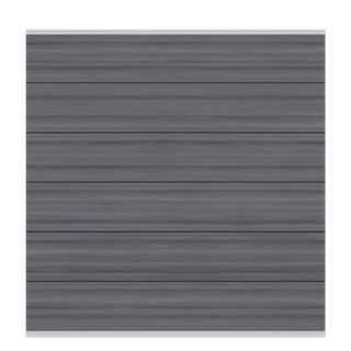 TraumGarten System WPC XL Platinum Zaun-Set