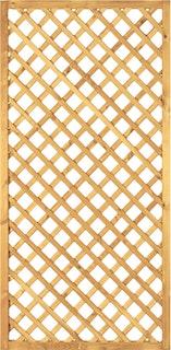 T&J DIAGONAL Rankzaun 6 x 6 / 90 x 180 cm
