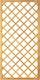T&J DIAGONAL Rankzaun 10 x 10 cm 90 x 180 cm