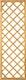 T&J DIAGONAL Rankzaun 10 x 10 cm 60 x 180 cm