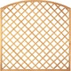 T&J DIAGONAL BOGEN Rankzaun 10 x 10  / 180 x 180/160 cm