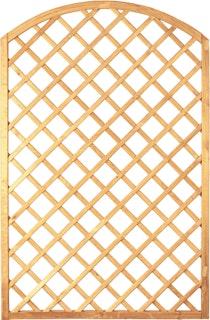 T&J DIAGONAL BOGEN Rankzaun 10 x 10 cm 120 x 180/160 cm