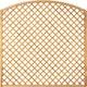 T&J DIAGONAL BOGEN Rankzaun 6 x 6 cm 180 x 180/160 cm