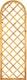 T&J Maxi Rankzaun rund 60 x 180/150 cm