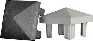 T&J Aluminiumpfosten Pfostenkappen