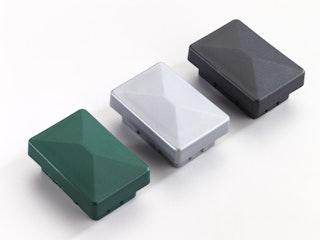 T&J Pfostenkappe für 60 x 40 mm Pfosten Kunststoff