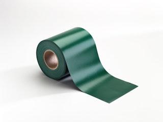 T&J BLICKDICHT Farbstreifen 35m Rolle inkl. Klemmschienen