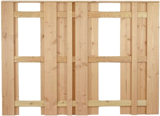 T&J AALBORG-Serie Grundelement 2 180x130 cm